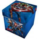 Aufbewahrungshocker mit Kissen Marvel Avengers