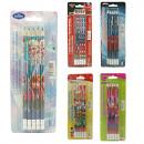 Crayons 5 pièces 5 assorti Disney frozen