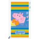 Serviette de plage 70x140cm Peppa Pig