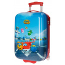 Reisekoffer  Trolley 50cm ABS 2 Räder Super Wings