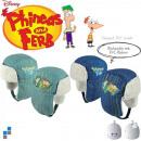 Wintermütze 2-fach sortiert Phineas & Ferb mit PVC