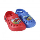 Clogs 2-fold size 22-29 assorted Super Wings