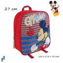 Preescolar - Mochila vela Disney Mickey 27cm