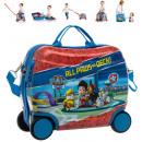 Reisekoffer /  Sitz-Trolley - Paw Patrol ABS