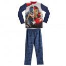 Großhandel Nachtwäsche: Pyjama 2-teilig  6-12 Jahre Captain America
