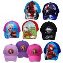 ingrosso Prodotti con Licenza (Licensing): Baseball Caps 100%  cotone Disney Frozen & Co.