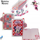 wholesale Licensed Products: Note book with pen  on the display Disney Minnie