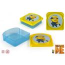 wholesale Children Dishes: Sandwich tin lunchbox Minion