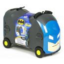 Reisekoffer /  Sitz-Trolley - Batman 4 Räder