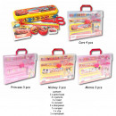 School Set 10-piece 4-assorted with Carrying Case
