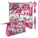 Großhandel Taschen & Reiseartikel: Kulturtasche mit  Beauty Accessoires Super Wings