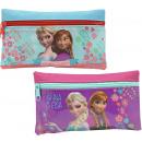 Schulmäppchen 21cm 2-fach sortiert Disney Frozen