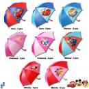 Enfants Umbrella ø75cm 8 assortis Disney