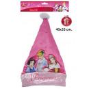 40x33cm Chapeau de Père Noël Disney Princess
