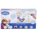 Großhandel Lizenzartikel: Figur zum bemalen Elsa, Anna und Olaf