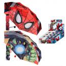 Regenschirm 2-fach sortiert 48cm Marvel Spiderman