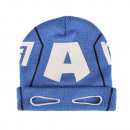 wholesale Licensed Products: Winter hat with  eyes 52-54cm Captain America