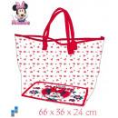 Shopping Bag 66cm transparent Disney Minnie