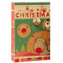 Gift Bag XL reno de la Navidad 33 x 46 cm