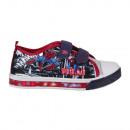 Canvas Schuhe mit Licht Größe 24-31 Spiderman