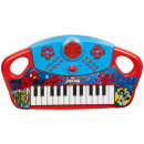 The grand piano with features Marvel Spiderman