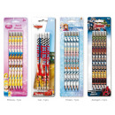 wholesale Licensed Products: Pencil 4 pieces in  blister Disney sorted