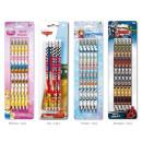 hurtownia Produkty licencyjne: Pencil 4 sztuk w  blister Disney posortowane