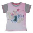 Großhandel Lizenzartikel: T-Shirt 2-fach  sortiert 2-8 Jahre sortiert Frozen