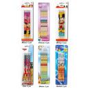Crayons 5 pièces en blister Disney triées