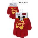 Winterhandschuhe Disney Mickey mit PVC Flicken