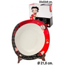 wholesale Licensed Products:Teller Ø22cm Betty Boop