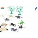 Reptiles insectes, les caractères 4-11cm