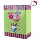 Geschenktasche  18x23cm M Hello Kitty Balloons