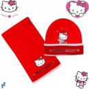 Winter Set 2-teilig (Mütze und Schal) Hello Kitty