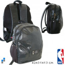 groothandel Rugzakken: Rugzak zwart NBA 42 x 31 x 13 cm