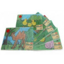 grossiste Linge de table: Placez un tapis,  de la conception des enfants - Pa