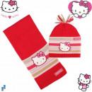 Winterset 2-teilig (Mütze und Schal) Hello Kitty