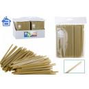 Straws / straws 100-piece metal 6x150mm