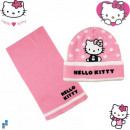 Winterset 2-teilig (Mütze, Schal) Hello Kitty