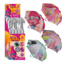 wholesale Licensed Products: Umbrella Ø84cm 4- assorted Trolls