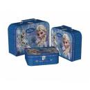 Aufbewahrungskoffer 3-teilig Disney Frozen