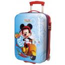 Reisekoffer Trolley 50cm ABS 2 Räder Mickey