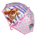 Paraguas  transparente de la  pata de la ...