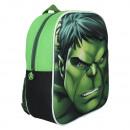 Zaino 3D EVA 31 centimetri Marvel Avengers Hulk