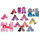 Winterset 3 pièces (chapeau, gants et écharpe) FZ