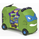 Reisekoffer /  Sitz-Trolley - Ninja Turtle 4 Räder