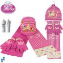 3pcs Winterset. (Hat gants écharpe) Princess