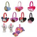 Cache-oreilles en peluche 9 assortis Disney