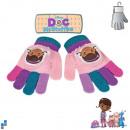 Winterhandschuhe Doc McStuffins mit PVC flicken