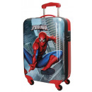 grossiste Articles sous Licence: Chariot valise Voyage 55cm ABS 4 roues Spiderman
